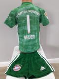 Echipament fotbal portar pentru copii Bayern Munchen Neuer model nou 2019-2020
