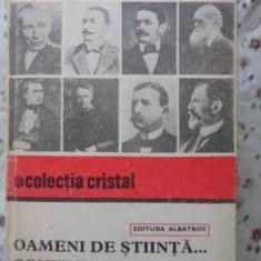 OAMENI DE STIINTA... CONEXIUNI... GESTURI FRUMOASE - C. POPESCU-ULMU