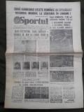 Ziarul Sportul din 2 august 1982