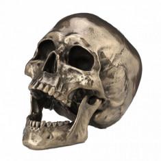 Statueta craniu finisaj bronz Cranius 22 cm
