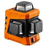 Nivela laser, 360° 3D,cu carcasa si suport magnetic,15 m, NEO GartenVIP DiyLine