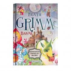Basme de Fratii Grimm, editura Girasol, 2017