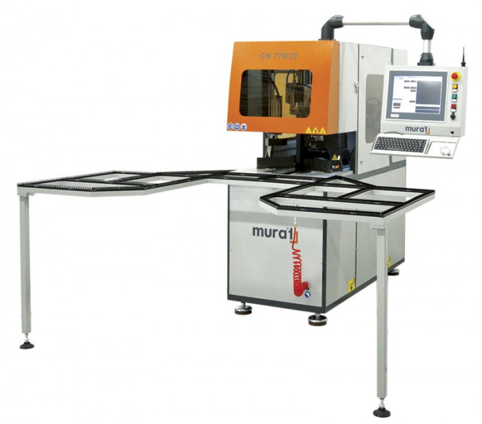 CNC Utilaj automat de debavurat avand comanda numerica CN 770-20