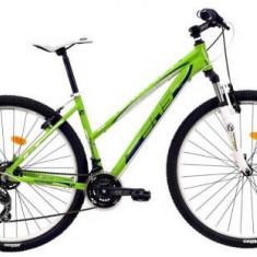 Bicicleta Dama DHS Teranna 2922, Roti 29inch (Verde)