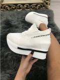 Adidasi dama albi cu platforma marime  39+CADOU