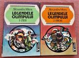Legendele Olimpului. Zeii+Eroii 2 Volume. Bucuresti, 1993 - Alexandru Mitru