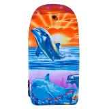 Placa inot pentru baieti, 93 x 45 cm, model delfini