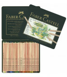 Creioane Pastel Faber-Castell Pitt, 24 Culori