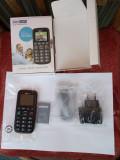 MAXCOM Comfort MM428BB Nou 60 lei, Negru, Orange