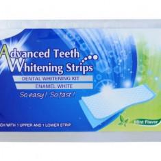 Cumpara ieftin Set de benzi pentru albirea completa a dintilor, GMO, Advanced White