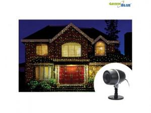 Proiector LED Laser pentru Exterior sau Interior GreenBlue cu Lumini Rosii si Verzi