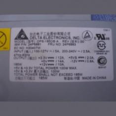 Sursa PC DELTA ELECTRONICS IBM P/N 24P6881 185W