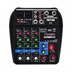 Consola mixat sunetul cu inregistrare bluetooth pentru performanta pe scena