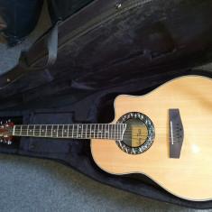 Chitara electroacustica Harley  Benton noua,case,perfecta stare, Harley Benton