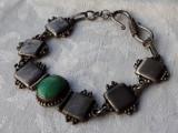 BRATARA argint TRIBALA de efect VECHE vintage SPLENDIDA delicata RARA