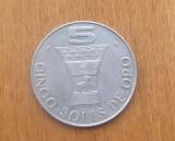 PERU 5 SOLI 1969