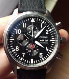 ceas parnis top gun cronograf 42 mm