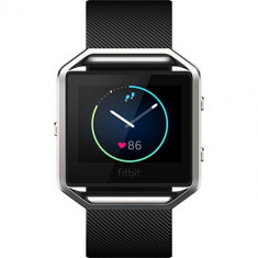 Smartwatch Blaze Fitness Wireless Marimea S Negru, Fitbit