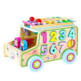 Cumpara ieftin Jurcarie educativa masinuta cu cifre Ecotoys