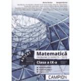 Matematica. Clasa a IX-profilul tehnic
