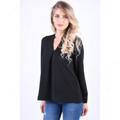 Bluza Eleganta Vero Moda Sasha Rome Negru, L, M, S, XL, XS