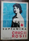 Afis Saptamana Crucii Rosii 1967