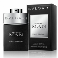 Apa de toaleta Barbati, Bvlgari Man in Black Cologne, 60ml, 60 ml