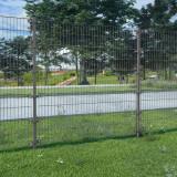 Panou gard cu stâlpi antracit 6x1,6 m fier vopsit electrostatic