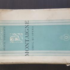 MONTAIGNE - OMUL SI OPERA - ALICE VOINESCU