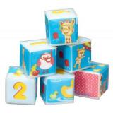 Set 6 cuburi de baie pentru bebelusi girafa Sophie Vulli