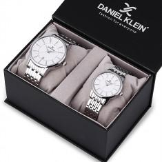 Set ceasuri pentru dama si barbati, Daniel Klein Pair, DK12240-1