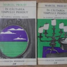 IN CAUTAREA TIMPULUI PIERDUT IN PARTEA DINSPRE SWANN VOL.1-2 - MARCEL PROUST