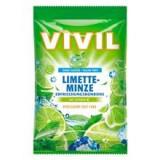 Bomboane Lime si Menta cu Vitamina C Fara Zahar 80g Vivil Cod: 4020400891110