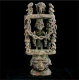 Casca ceremoniala africana Yoruba