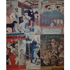 TARANU N. D. & RANETTI G. - FURNICA (Revista Umoristica), G. RANETTI & N. D. TARANU, Anul VI (23 Numere + Numarul 3 Dublura !), Bucuresti, 1909-1910