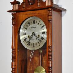 Ceas de perete cu pendul Regulator 31 zile