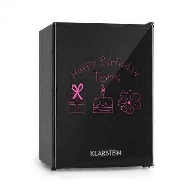 Klarstein Spitzbergen M, frigider, A+, 70 litri, congelator de 8 litri, negru foto