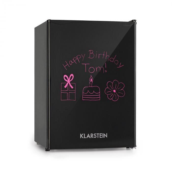Klarstein Spitzbergen M, frigider, A+, 70 litri, congelator de 8 litri, negru