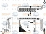 Vaporizator / Evaporator aer conditionat MERCEDES VIANO (W639) (2003 - 2016) HELLA 8FV 351 211-741