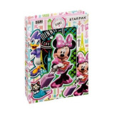Jurnal Minnie Traveling Divas SunCity, 17 x 13 x 3 cm, roz