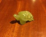 Figurină broască țestoasă din jad (5 x 3 cm.)