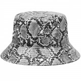 Palarie Kangol Snakeskin Bucket Negru (S,M,L,XL) - Cod 78715554680