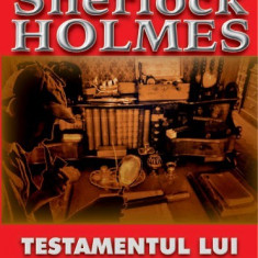 Testamentul lui Sherlock Holmes-Arthur C.Doyle(Aldo Press)
