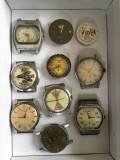 Ceasuri mec. defecte,ptr. piese (10 buc.)