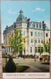 Salutari din Turnu Severin, Palatul Bancei Comerciale// CP, Circulata, Fotografie