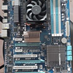 Kit AM3+ Gigabyte GA-990FXA-UD3 + Amd FX4100 3,6Ghz + Cooler FX