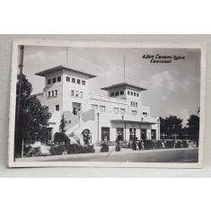 CARMEN SYLVA ( EFORIE SUD ) CAZINOUL , CARTE POSTALA ILUSTRATA , MONOCROMA , CIRCULATA , DATATA 1939