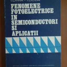 Fenomene fotoelectrice in semiconductori si aplicatii