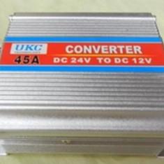 Convertor tensiune 24V - 12V 15A