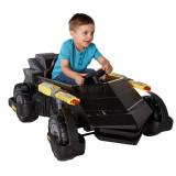 Masinuta electrica Batmobile Rideon 6V SSO1056, 4-6 ani, Unisex, Negru